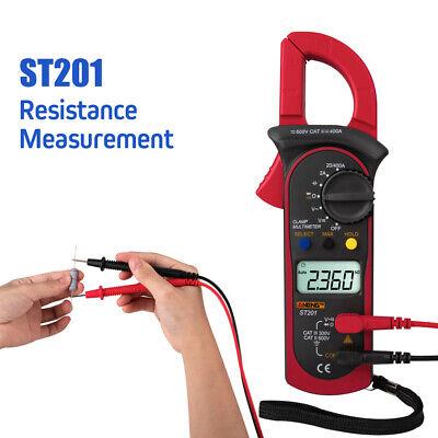 Handheld Lcd Digital Clamp Meter Multimeter Ac Dc Volt Ohm Amp Tester Auto Range