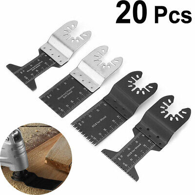 20pcs Oscillating Multi Tool Saw Blades 34mm Universal Carbon Steel 34mm