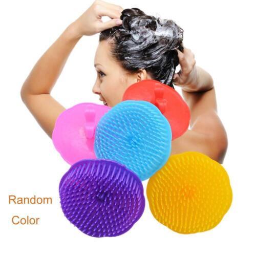 Shampoo Silicone Scalp Massage Brush Massager Tools Shower Head Hair Comb Washer