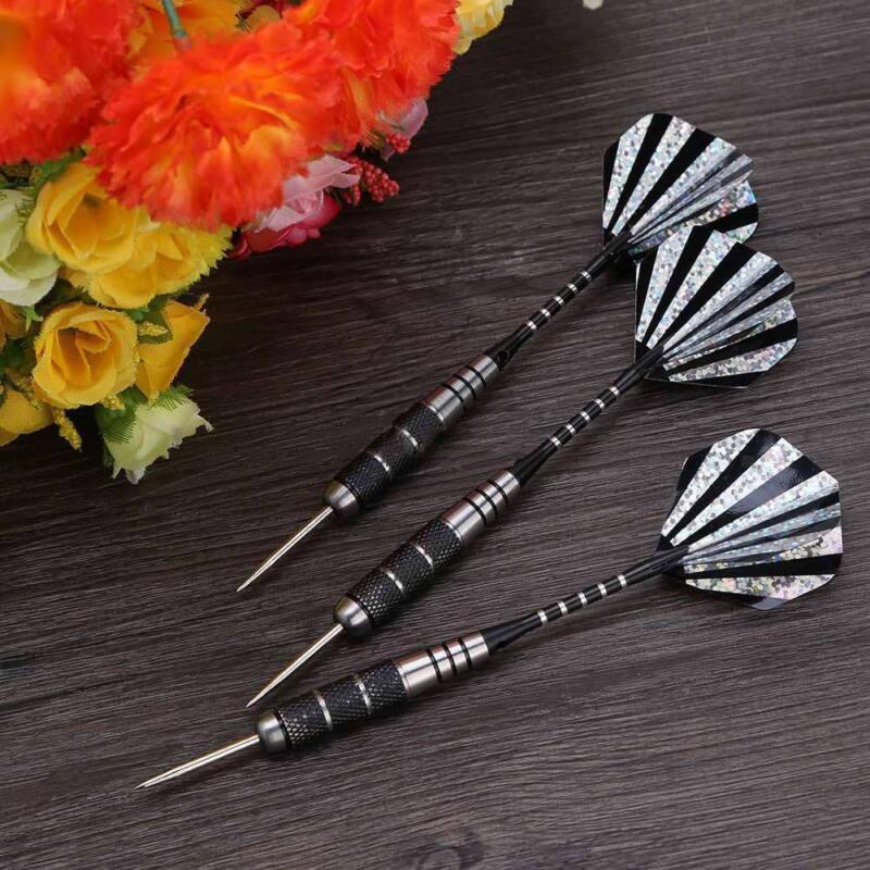 3pcs professional steel target throwing tip darts