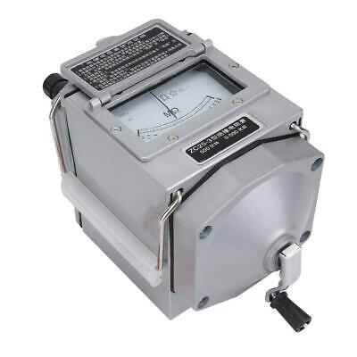 Zc25-3 500v Hand Crank Megger Meter Insulation Tester Resistance Meter 120rmin