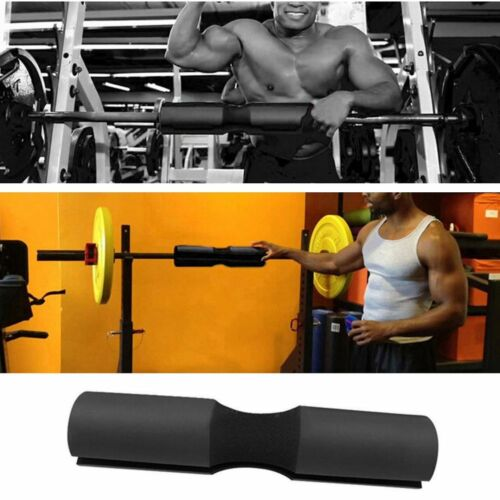 Gym barbell pad squat bar jaw fitness neck weight lifting