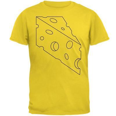 Halloween Swiss Cheese Food Costume Mens T Shirt
