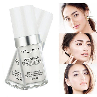 Magic Color Changing Foundation TLM Makeup Change To Your Skin Tone New