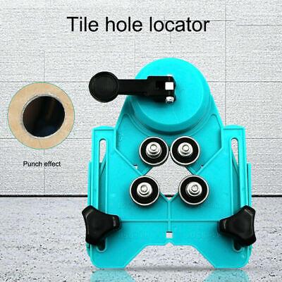 Ajustable Vidrio Azulejo Corona Taladro Guía Localizador Succionador Base 4-83mm