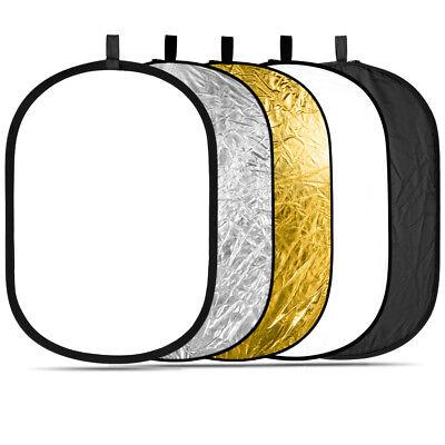 Neewer Multi Oval 5 in 1 Folding Studio Light Reflector Modifier 150 x 200 cm