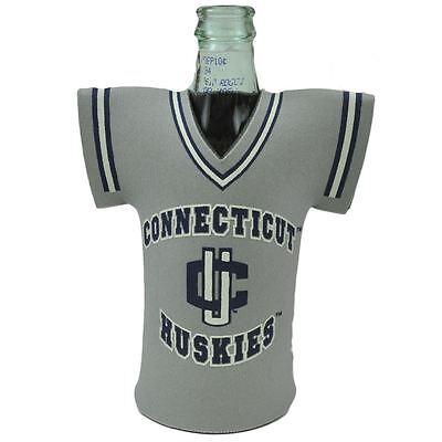 NCAA Connecticut Huskies Jersey Novelty Coozies Bottle Beer Cooler Drink Coolie