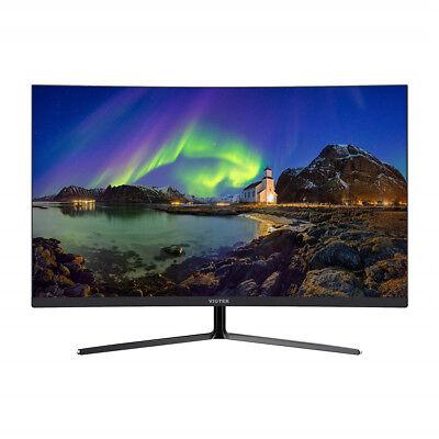 OPEN BOX VIOTEK NB27CB 27 Inch LED Curved Monitor VA Panel 1080P Full-HD(Black)