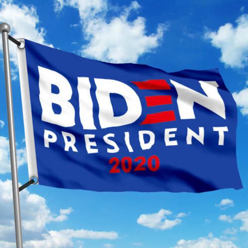 Biden For President Flag 3x5 ft Joe 2020 Campaign Election Sign Banner Grommets