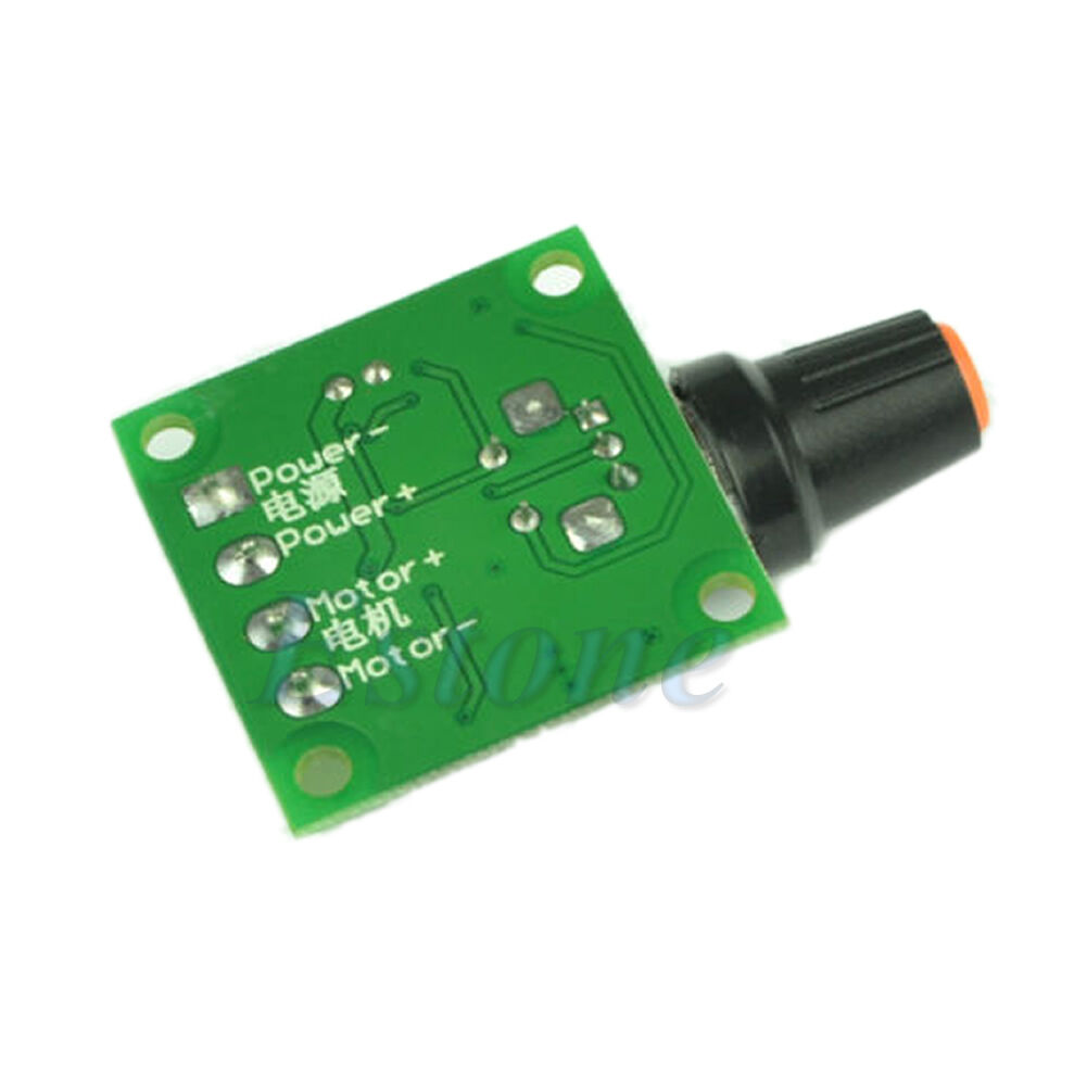 Dc 1 8v 3v 5v 6v 12v Motor Speed Controller Pwm Available