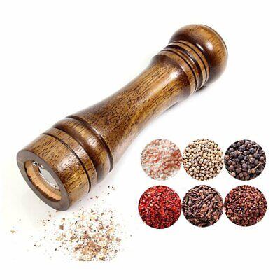 KITCHEN Pepper spice salt Mill Solid Wood Body Adjustable Pepper Grinder 8