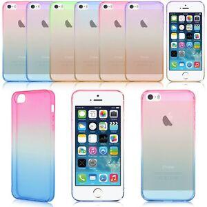 Coloridos delgado silicona funda caso carcasa cubierta para iphone 5 5s 6 plus ebay - Fundas de silicona para iphone 5 ...
