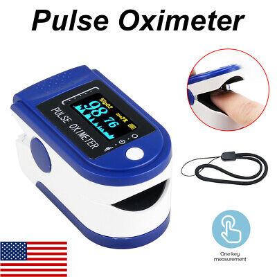 Oled Fingertip Finger Pulse Oximeter Spo2 Pr Blood Oxygen Monitor Detector Dv