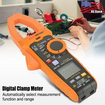 Peakmeter Pm2128 Digital Clamp Meter Acdc Voltage Ammeter Multimeter Current Us