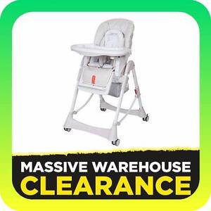 Steelcraft Messina Deluxe High Lo Chair RRP $199 Tullamarine Hume Area Preview
