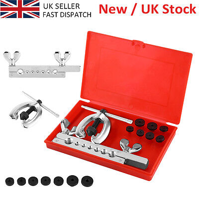 10PC METRIC PIPE FLARING TOOL KIT MECHANIC BRAKE PLUMBER TOOL BOX SET SALE PRICE