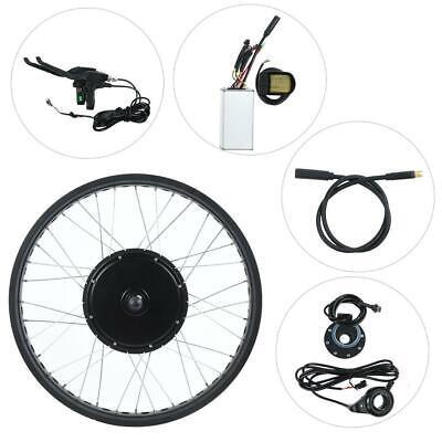 Kits de conversión de bicicleta eléctrica con motor 72V 3000W Rueda de 26
