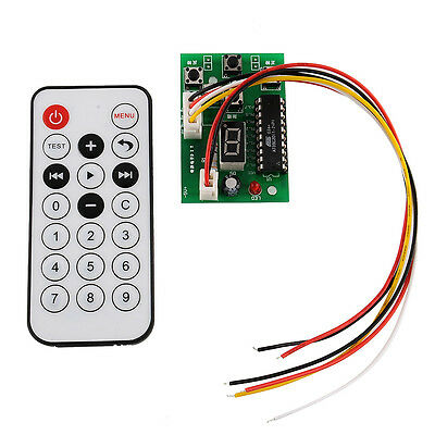 Adjustable Speed Stepper Motor Click Pulse Driver Controller With Remote Control