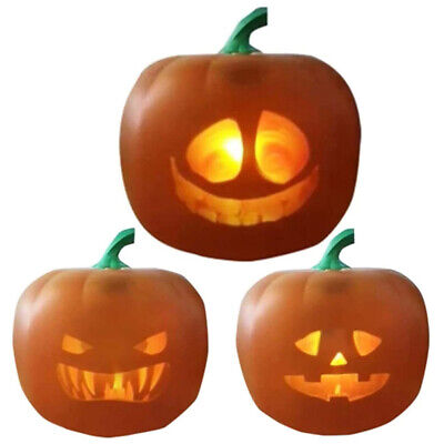 Halloween Night Light Luminous Toys Pumpkin LED Projection Lamp Home Party Props