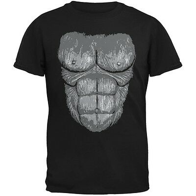 Gorilla Suit Costume Black Youth T-Shirt - Youth Gorilla Costume