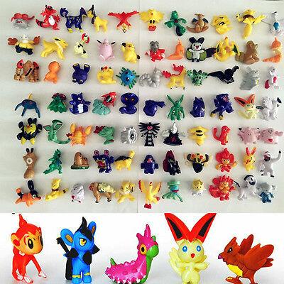 24 Stueck Verschiedene Pokemon Go Figuren Großhandel Spielzeug Pokemon Monster