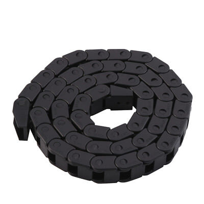 14 X 17mm Plastic Carrier Cable Towline 1m 40 Drag Chain Cnc Machine Wire