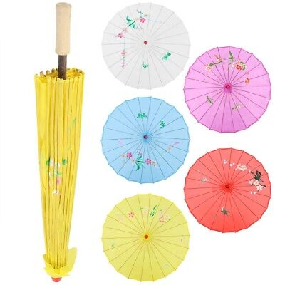 Chinese Umbrella Art Decor Painted Parasol for Wedding Party Oil Paper Umbrella (Paper Parasol)