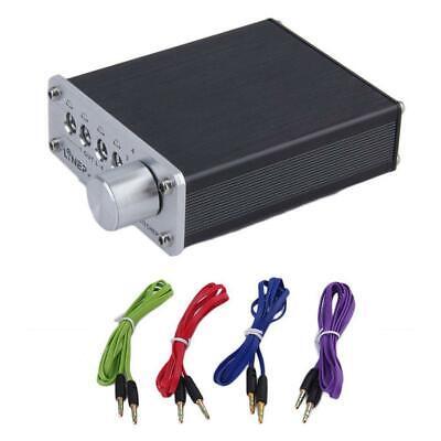 4 Input 4 Output Headphone 3.5mm MP3 Audio Signal Switcher Digital Multi-CH JJ
