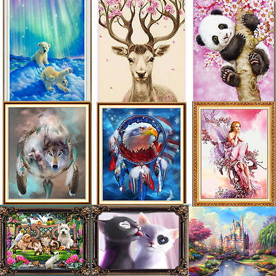 Home Decor Kit (Colorful DIY 5D Diamond Painting Embroidery Cross Stitch Kit Home Decor Hot Sets)