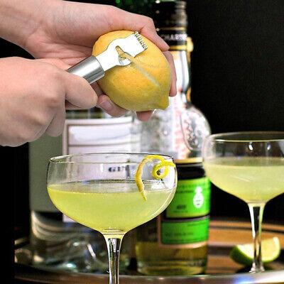 Stainless Steel Fruit Citrus Lemon Peeler Cutter Slicer Grater Kitchen Gadget