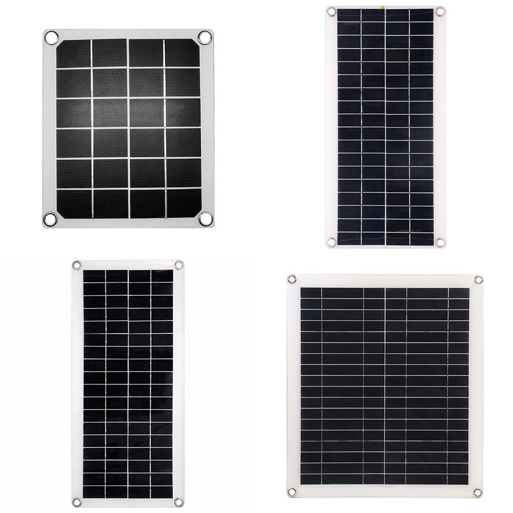 5/12V Polycrystalline Solar Panel Set Power Adapter Car Cell