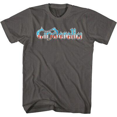 Cinderella USA Flag Logo Men's T Shirt Stars Stripes 80's Glam Rock Band Concert