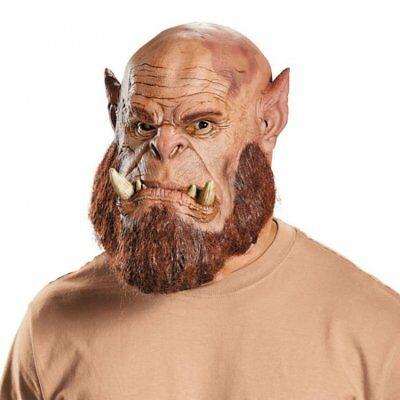 Warcraft Ogrim Maske Ork Orc Latex Karneval Verkleidung Kostüm Warlord NEU