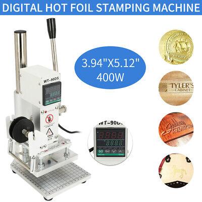Wt-90ds 10x13cm Manual Hot Foil Stamping Machine Digital Display 110v