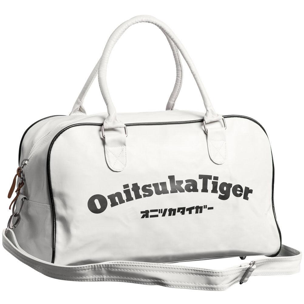 Asics Onitsuka Tiger Sports Retro Duffle Bags Blue White Navy Gym Holdalls b86f19536c807