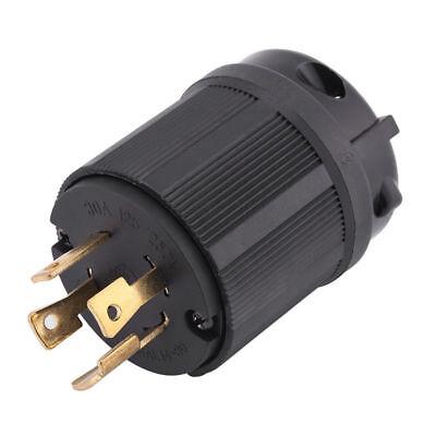 Generator Rv Ac Plug Nema L14-30 30 Amp 120v 220v Twist Lock Plug Connector Is