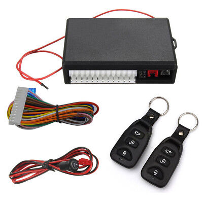 Universal Car Auto Keyless Entry System Vehicle Remote Central Kit Door Locking
