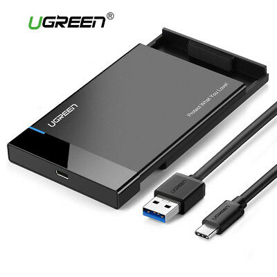 Ugreen Enclosure USB 3.1 Type C SATA External Hard Drive Disk Case Adapter UASP for sale  Shipping to United States