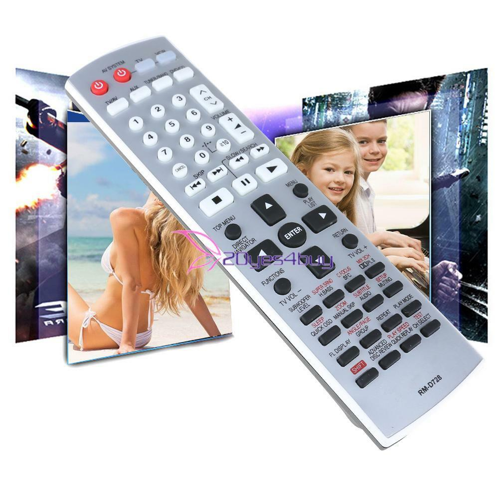 TV Remote Control Replacement for Panasonic EUR7722X10 DVD H