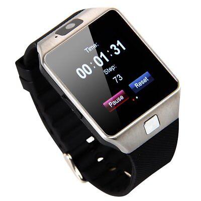 Bluetooth Smart Watch DZ09 Phone cámara SIM ranura para iOS teléfonos Android