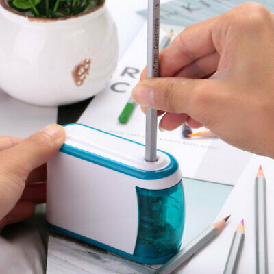 Automatic Electric Pencil Sharpener Sacapuntas Electrico Escolar School Tool