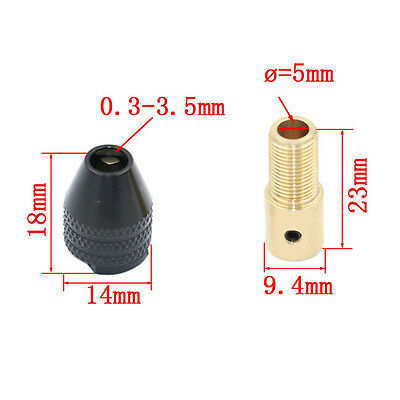 Durable Universal Micro Electronic Drill Chuck Tools Set 0.3-3.5mm Small Drill