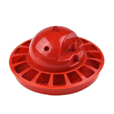 PLASTIC AUTOMATIC WATERER DRINKER CUPS CHICKEN COOP POULTRY CHOOK BIRD  DRINK