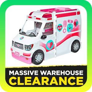 Barbie Care Clinic Van (Toy) RRP $59 Tullamarine Hume Area Preview