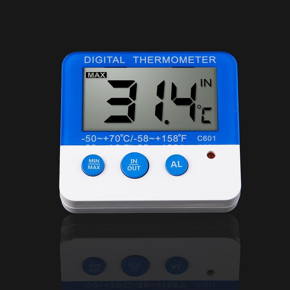 LCD Indoor Outdoor Digital Thermometer Hygrometer Temperatur