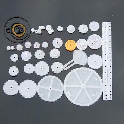 34 Kinds Of Plastic Gear Rack Pulley Belt Worm Gear Single Double Gear Teeth New