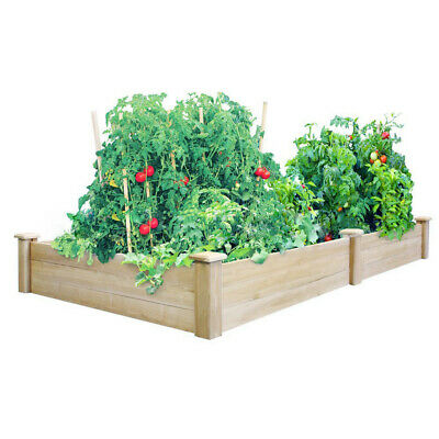 Wooden Extra Large Long Planter Trough Decking Garden Flower Plant Tub