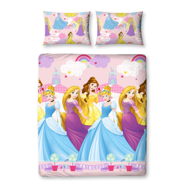 Disney Princess Enchanting Double Bed cover 200x200 Bed Set Set new