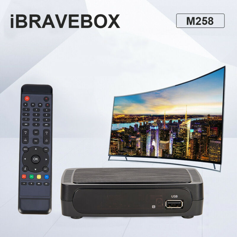 iBRAVEBOX M258 IPTV/OTT Internet Set Top Box Full HD 1080P H.265& IPTV+USB Wifi
