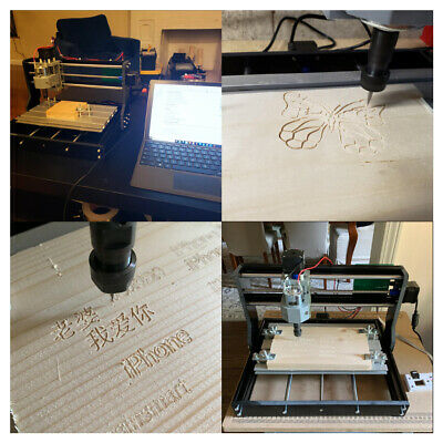 3018 Pro Cnc Mini Engraving Machine Pcb Milling 3axis Router Kit Grbl Control